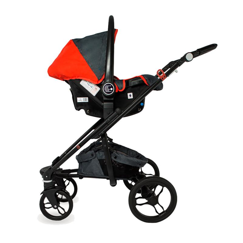 DHS Arrow 3 az 1-ben multifunkcios babakocsi Piros - Smart Baby Magyarország b8f7d73ef5