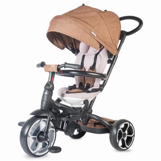 Coccolle Modi Plusz multifunkciós tricikli Barna